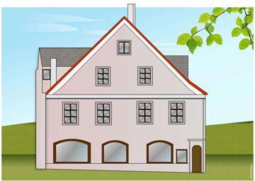 einmaliges Wohn- und Geschäftshaus in Traumlage am Kirchplatz im Stadtzentrum von Weilheim, 82362 Weilheim, Wohn- und Geschäftshaus