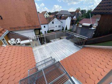 Erstbezug: traumhafte Maisonette-Stadtwohnung mit Dachstudio in der Innenstadt von Weilheim, 82362 Weilheim, Dachgeschosswohnung