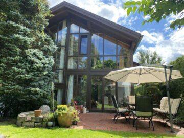 individuelles Architektenhaus in Split-Levelbauweise nahe dem Ammersee in Hechenwang-Windach LK LL, 86949 Hechenwang-Windach, Einfamilienhaus